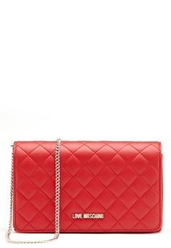 Love Moschino Love M Small Bag Red Bubbleroom.no