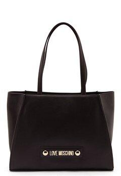Love Moschino Big Scarf Handbag Black Bubbleroom.no