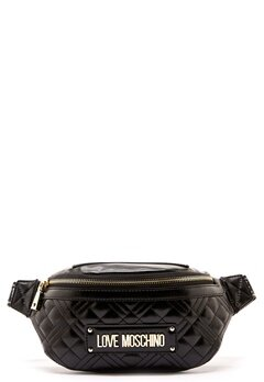 Love Moschino Bum Bag Black Bubbleroom.no