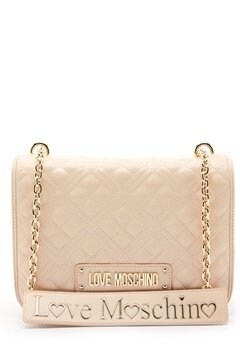 Love Moschino Evening Bag Ivory Bubbleroom.no