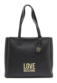 Love Moschino Love Moschino Lettering Bag 00A Black Bubbleroom.no