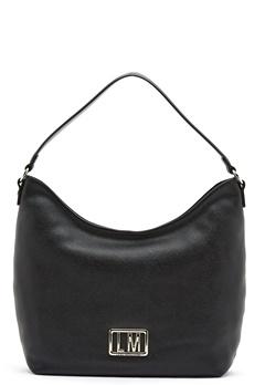 Love Moschino Love Moschino Matal Logo Bag 000 Black Bubbleroom.no