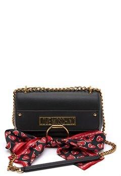 Love Moschino Love Moschino Scarf Bag 000 Black Bubbleroom.no