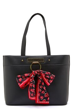 Love Moschino Love Moschino Scarf Bag 000 Black Bubbleroom.no