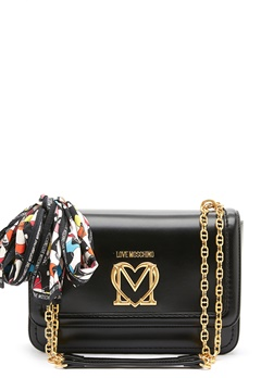 Love Moschino New Love Moschino Scarf Bag 000 black bubbleroom.no