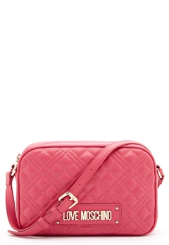 Love Moschino New Shiny Quilted Bag 604 Fuxia Bubbleroom.no