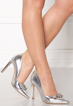 Love Moschino Pumps 902 Silver Bubbleroom.no