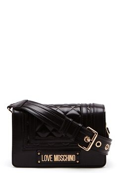 Love Moschino Quilted Shoulder Bag Black Bubbleroom.no