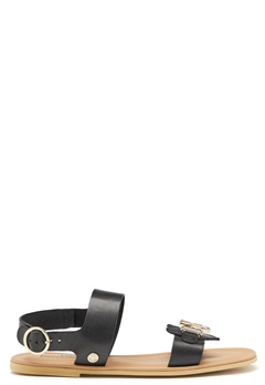 Love Moschino Sandals 000 Black Bubbleroom.no