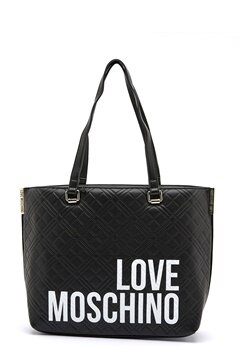 Love Moschino Shopping Lovers 00A Black Bubbleroom.no