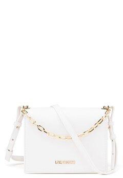 Love Moschino Small Chain Handbag White Bubbleroom.no