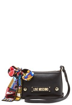 Love Moschino Small Scarf Bag Black Bubbleroom.no
