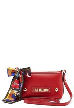 Love Moschino Small Scarf Bag Red Bubbleroom.no