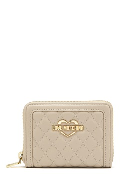 Love Moschino Wallet 108 Taupe/Sand Bubbleroom.no