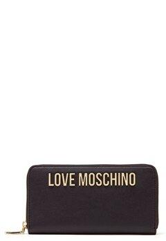 Love Moschino Wallet Black Bubbleroom.no
