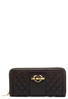 Love Moschino Wallet Black/Gold Bubbleroom.no