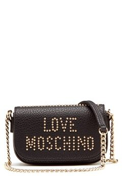 Love Moschino Love New Bag Black/Gold Bubbleroom.no