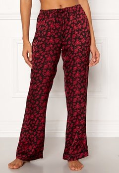Love Stories Billy Pyjama Pants Bordeaux Bubbleroom.no