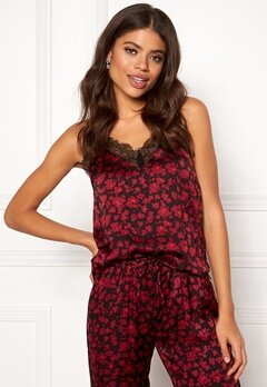 Love Stories Camelia Camisole Top Bordeaux Bubbleroom.no