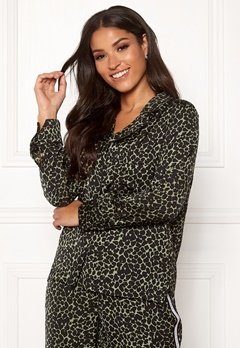 Love Stories Jude L Pyjama Shirt Black Bubbleroom.no