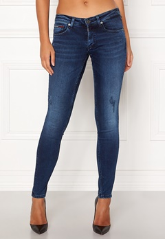 TOMMY JEANS Low Rise Skinny Sophie DY Dynamic Sea Dark Blu Bubbleroom.no
