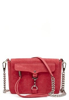 Rebecca Minkoff Mab Flap Crossbody Bag 666 Scarlett/Silver Bubbleroom.no