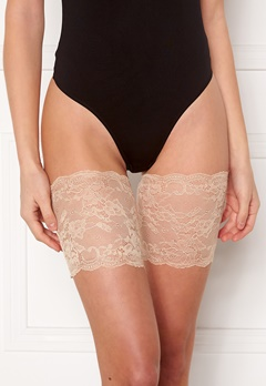 MAGIC Bodyfashion Lace Thigh Band Latte Bubbleroom.no