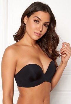 Wonderbra Perfect Strapless Bra Black Bubbleroom.no