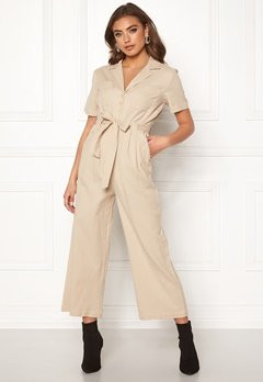 Make Way Adalia jumpsuit Beige Bubbleroom.no