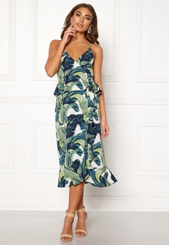 Make Way Analisa dress Green / Patterned Bubbleroom.no