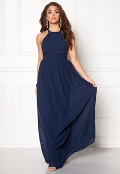 Make Way Cora Maxi Dress Midnight blue Bubbleroom.no