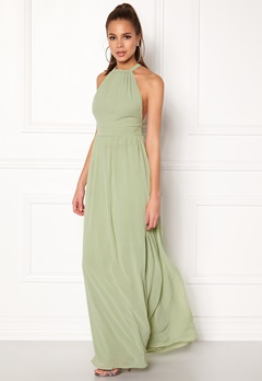 Make Way Cora Maxi Dress Dusty green Bubbleroom.no