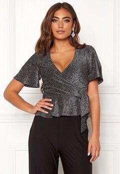 Make Way Dila sparkling top Black / Silver Bubbleroom.no