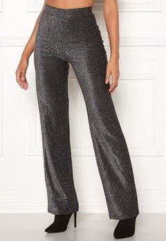 Make Way Dila sparkling trousers Black Bubbleroom.no