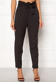 Make Way Disa trousers Black / White / Striped Bubbleroom.no