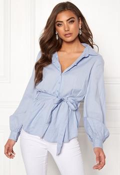 Make Way Donna blouse Light blue Bubbleroom.no