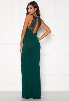 BUBBLEROOM Edina prom dress Dark green Bubbleroom.no