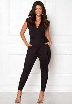 Make Way Elle Jumpsuit Black Bubbleroom.no