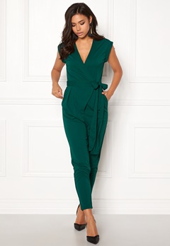 Make Way Elle Jumpsuit Dark green Bubbleroom.no