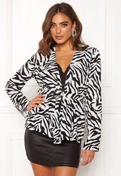 Make Way Elly soft blazer Zebra Bubbleroom.no