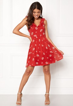 Make Way Faith dress Red / Floral Bubbleroom.no