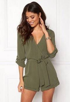 Make Way Flynn Playsuit Green Bubbleroom.no