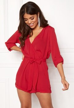 Make Way Flynn Playsuit Red Bubbleroom.no