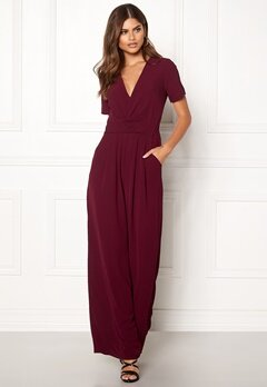 Make Way Harlee jumpsuit Wine-red Bubbleroom.no