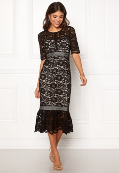 Make Way Jessenia dress Black / Beige Bubbleroom.no