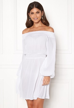 Make Way Krista offshoulder dress White Bubbleroom.no