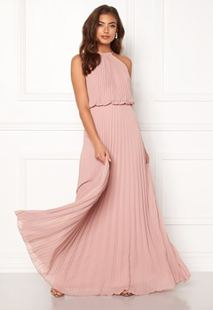 Make Way Leilani maxi dress Dusty pink Bubbleroom.no