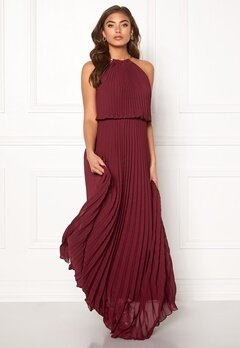 Make Way Leilani maxi dress Wine-red Bubbleroom.no