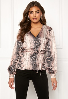 Make Way Miriam blouse Animal print Bubbleroom.no