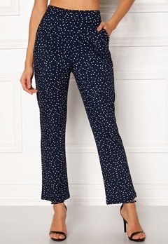 Make Way Nadine trousers Blue / Dotted Bubbleroom.no